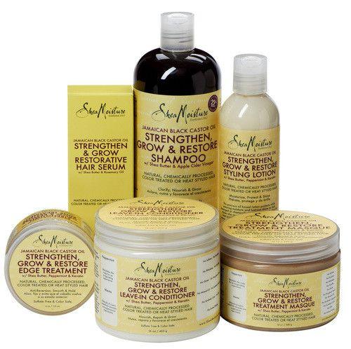 JAMAICAN BLACK CASTOR OIL STRENGTHEN, GROW & RESTORE Contains Shea Butter…