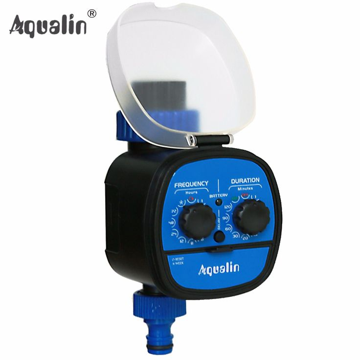 Ball Valve Electronic Automatic Water Timer Garden Home Irrigation System  With Delay Function #21049