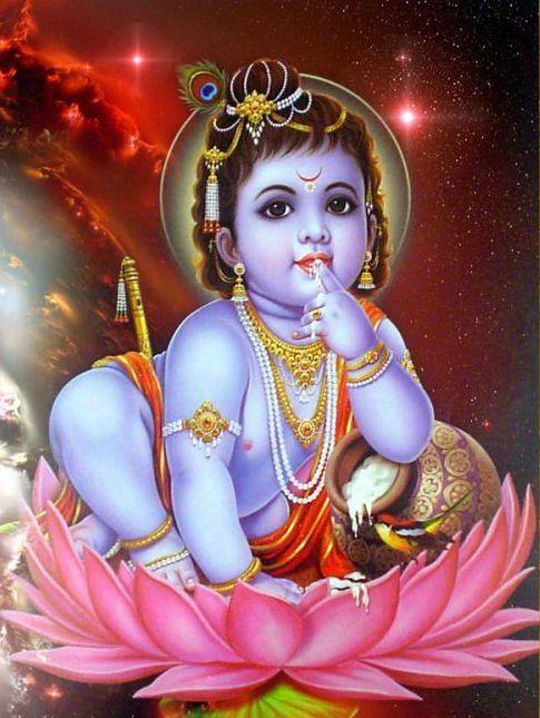 Child Krishna Image Download Lord Krishna Hd Wallpaper Bal Krishna Little Krishna
