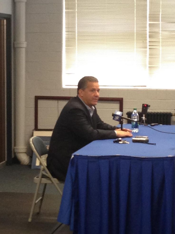 Coach Cal is here. Says Trey Lyles and WCS are good to go and recovered from offseason injuries.