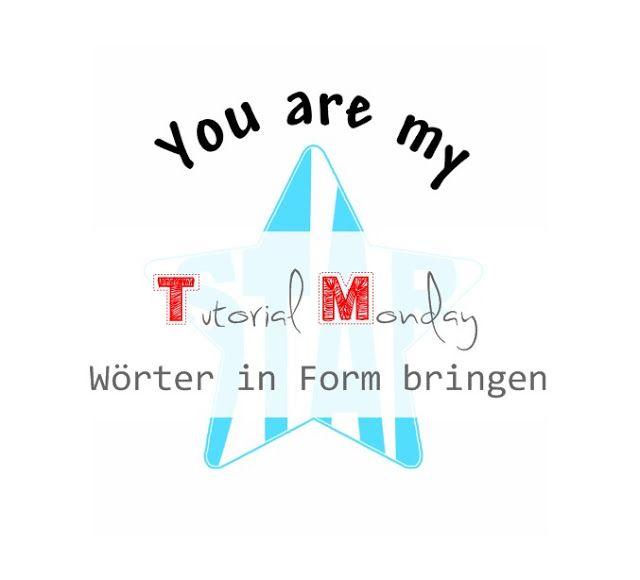Wörter in Form bringen // wienermaedchen.blogspot.de
