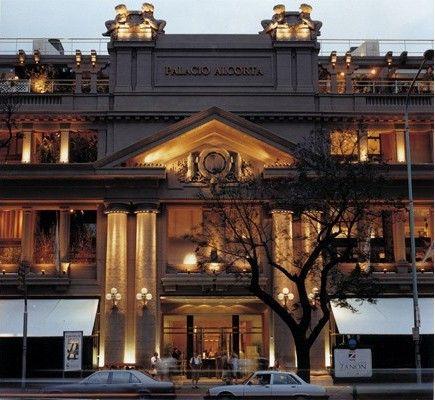 Palacio Alcorta, Buenos Aires.