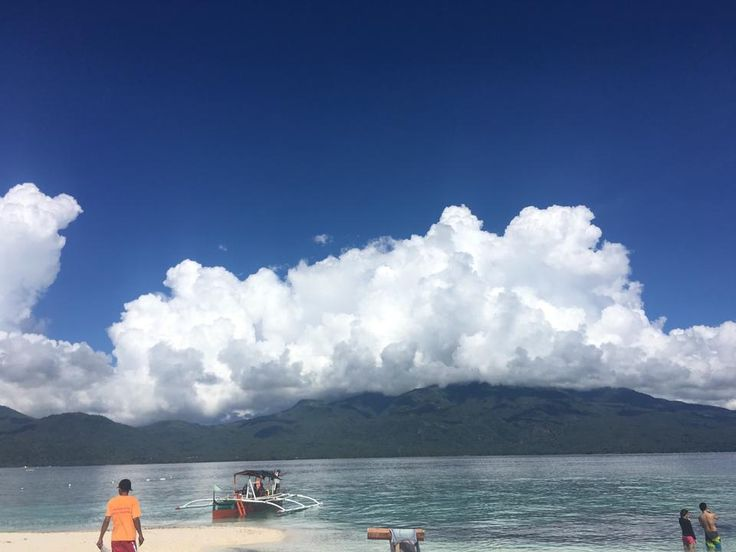 Camiguin from Mantigue Island
