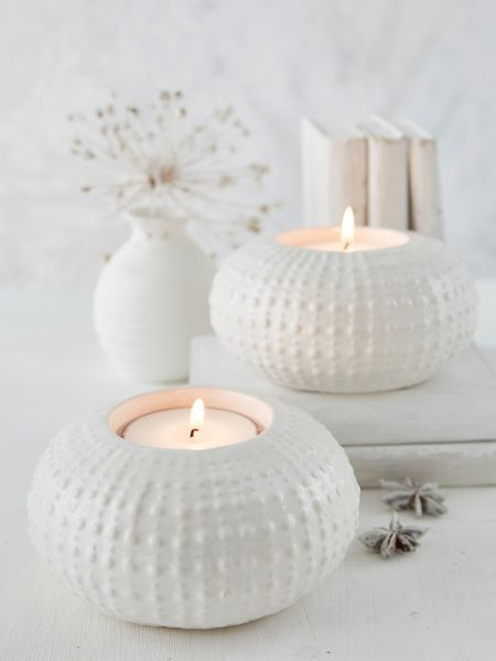 Large Sea Urchin Tealight Holder