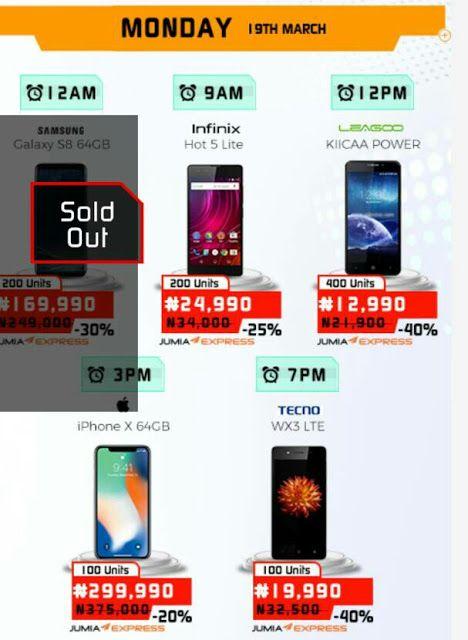 d490cb9b8 Its Jumia Mobile Week 2018 - Get iPhone X for N299990 Leagoo M9 N16500  Leagoo Power N12999. See more offers up to 50% Price Slash