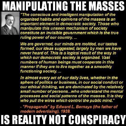 Bernays on Manipulating the Masses