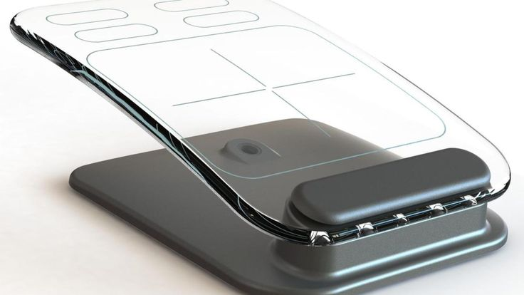 Glass keyboard and mouse concepts give new meaning to minimalist design