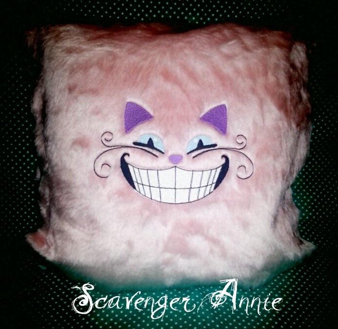 Cuddly Fur Cheshire Cat Fur Cushions Grin Cushions Cushion Covers