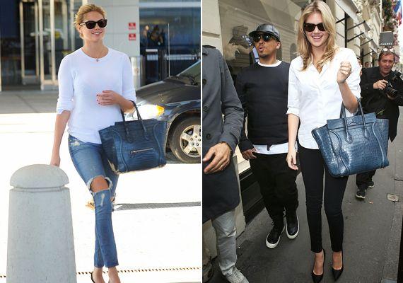 Így öltözik a mindennapokban a teltkarcsú szupermodell Kate Upton stílusa