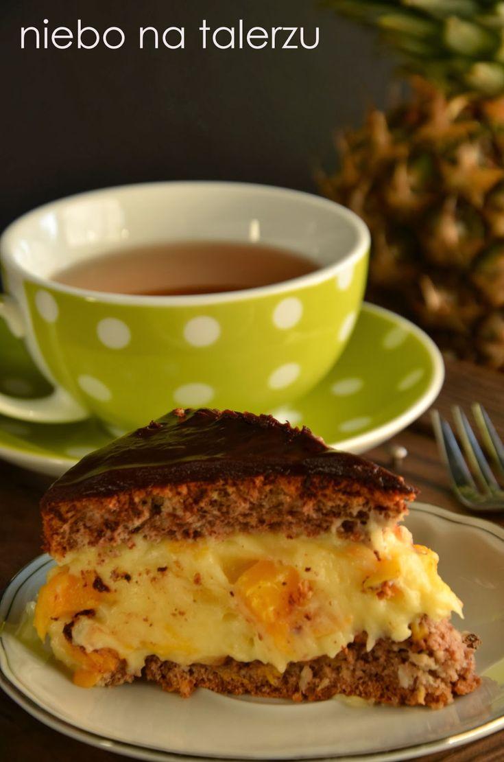niebo na talerzu: Ciasto z kremem