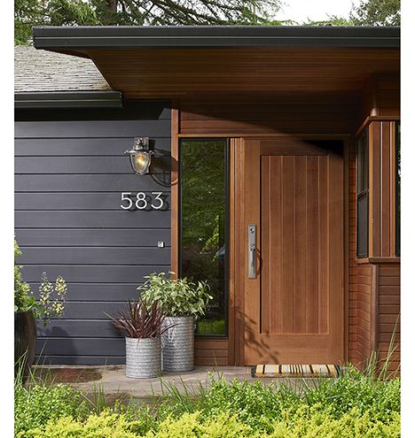Check out these amazing homes with dark painted exteriors.