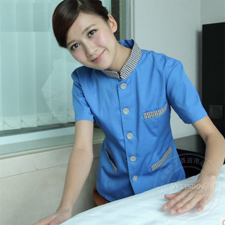 2014 fashion cleaning uniform garment.http://www.weisdin.com