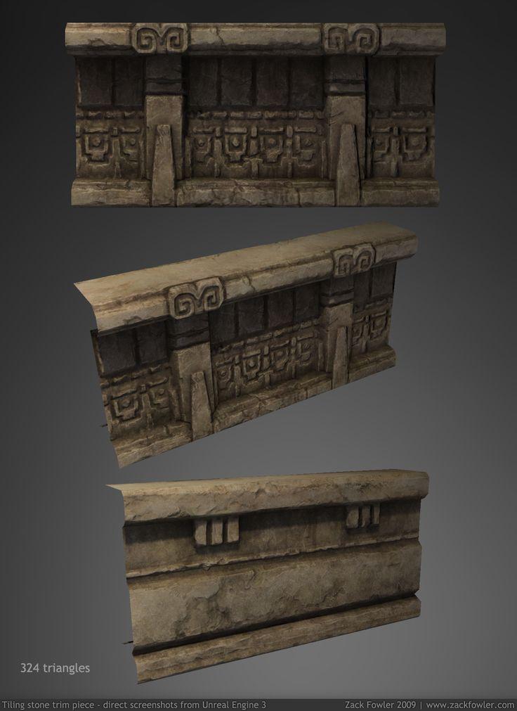 Temple Trim Piece 3D by ZackF on deviantART