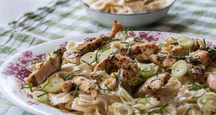 Chicken and Bow Tie Pasta Salad