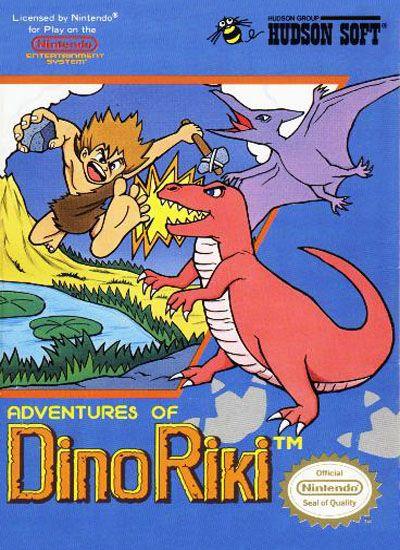 The Adventures of Dino Riki (NES)