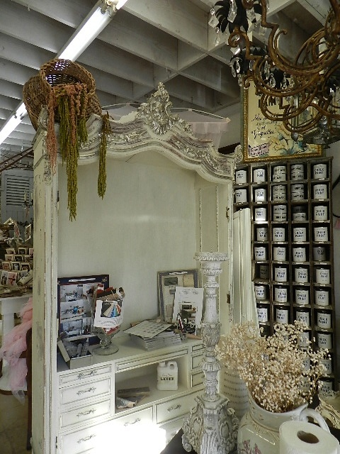 FRENCH COUNTRY ARMOIRE AT VIGNETTES IN SAN DIEGO