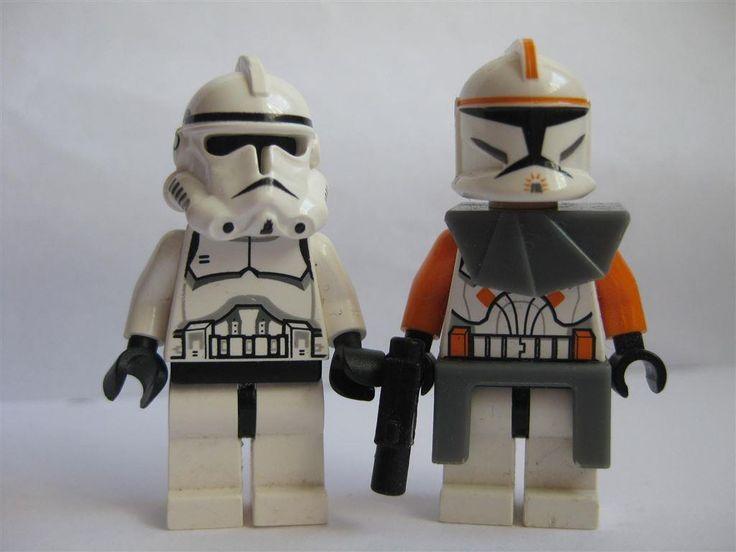 Lego Figurer Star Wars - Commander Cody + Trooper AUK198-7 på Tradera