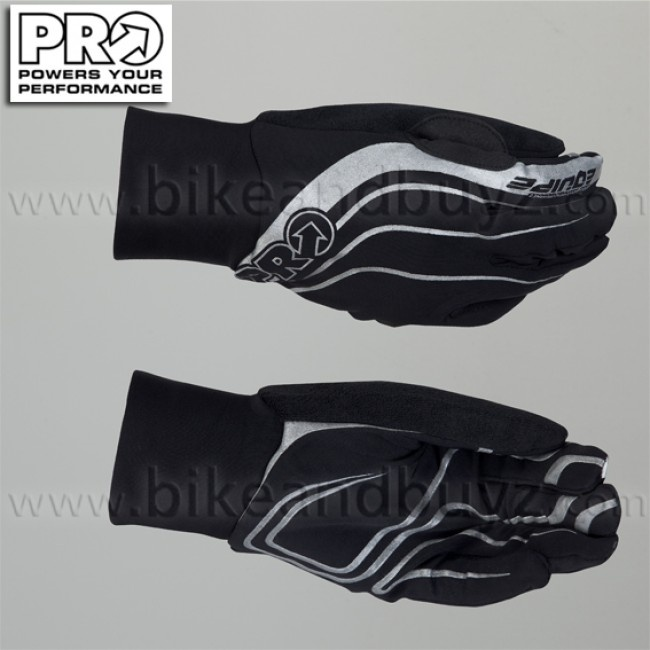 Pro equipe cycling long gloves black. Guanti ciclismo Pro equipe long nero.  #ciclismo #cycling #guanti