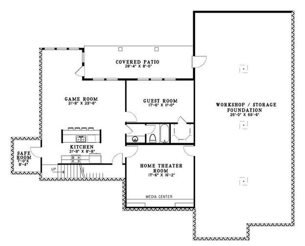 House Plan 110 00612 Luxury Plan 5 723 Square Feet 5 Bedrooms 3 5 Bathrooms Luxury Plan House Plans Country Style House Plans