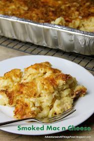 Adventures in All Things Food: Smoked Mac n Cheese with the Secret Recipe Club