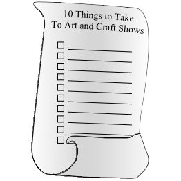 Different articles that help improve your craft show.