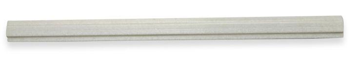 Novel Pencil White Thassos Marble Tile Liner $9.95