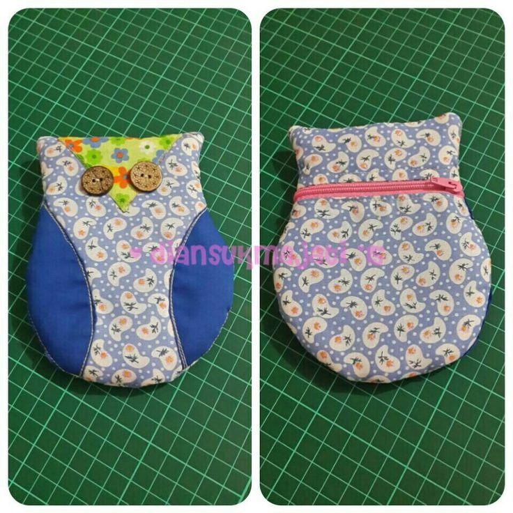 #pouche #dompet #tempathp #owl #burunghantu  #myhobby #hobby #my1stpouche #sewing #handmade #needlework #needlecraft #myprojects #projects