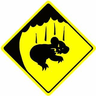 Only in Australia.... Drop Bears
