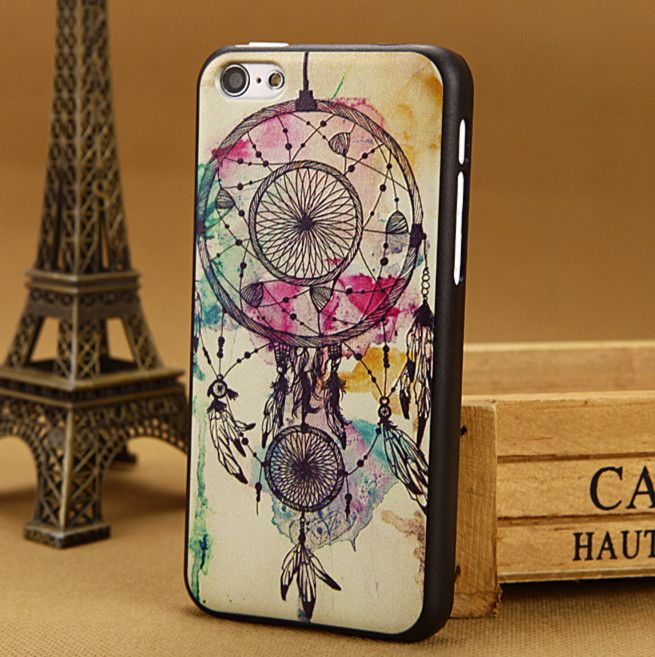 Luxury 3D painting tower Case for apple iphone 5c cover iphone5c Cases i phone 5 c covers skin Free Shipping @www.aliexpress.com