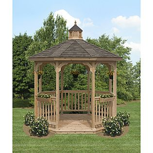 Dreaming of a gazebo in the back yard some day!