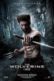 The Wolverine~ enjoyable summer movie. Hugh Jackman shirtless in more than one scene...bonus! :)