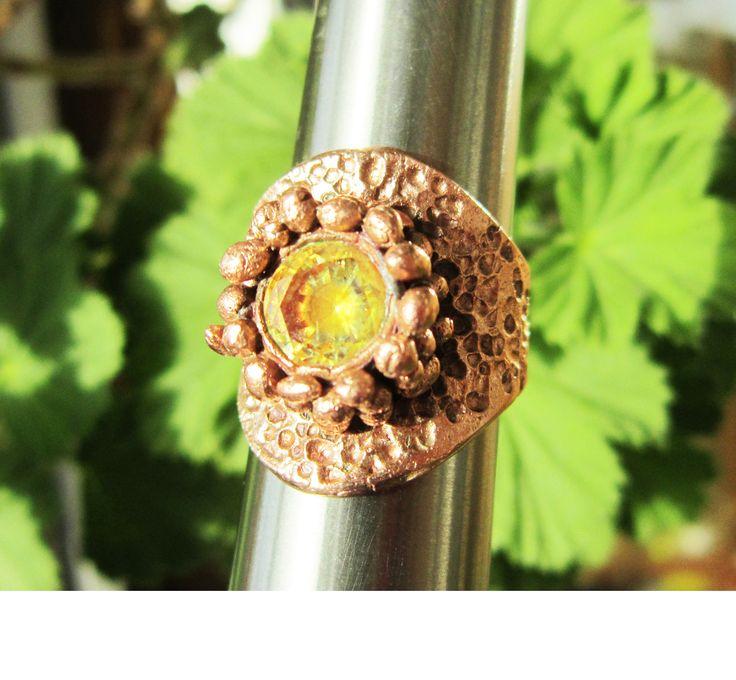 Copper Art Clay by Cristina Stoica (Cris Briz Art Jewelry)