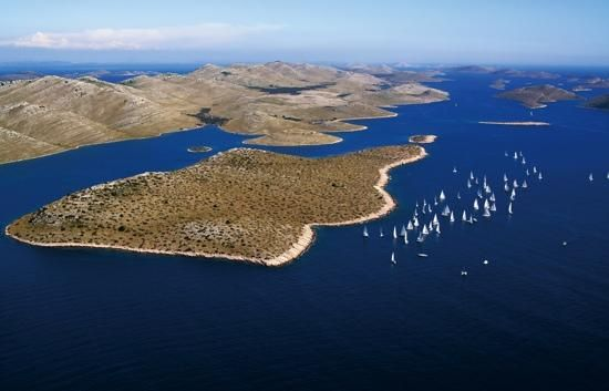 Islands Kornati regata