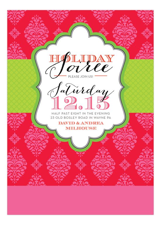 135 Best Christmas Party Invitations Images On Pinterest Natal