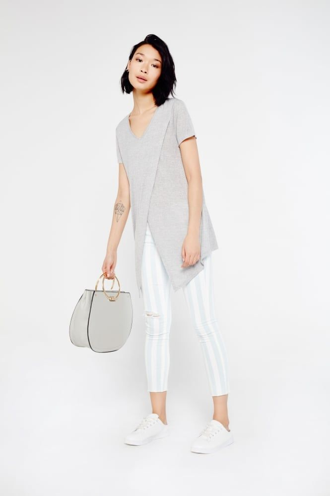 Melie Bianco Melie Bianco Tote Bag With Circular Handle