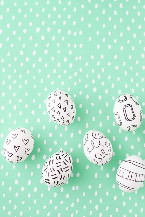 Sharpie Eggs