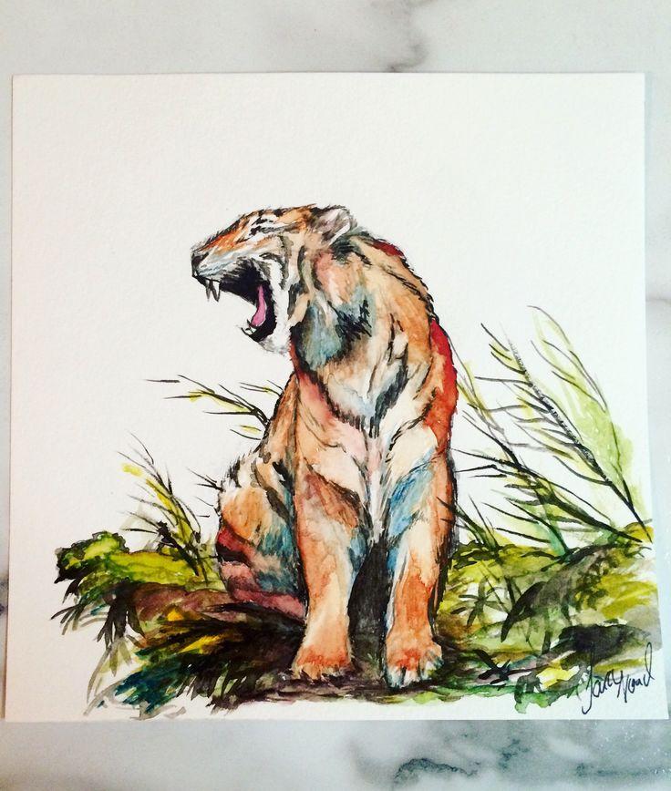 Tiger. -Sara Noad
