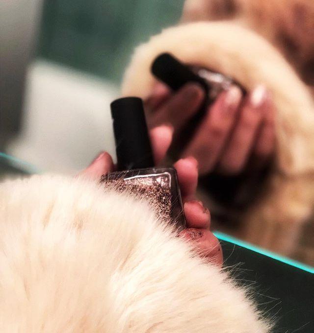 I got some festive feelings on in my hand🎄✨ セルフネイルしました💅♥️ キラキラ〜💋 #festive #glam #christmas  #newyork #furry  #fur #fashion #makeup #nail #babe #glitternails #bloggers  #セルフネイル #ネイル #おしゃれ #ファーコート  #ニューヨーク #海外 #ニューヨーク留学 #楽しい #キラキラ #かわいい