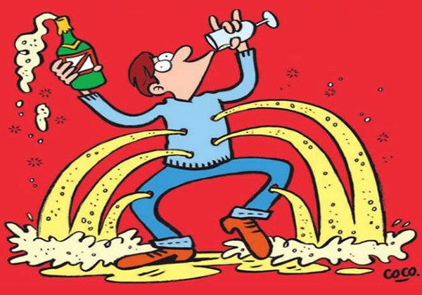 Charlie Hebdo - Champagne by Coco