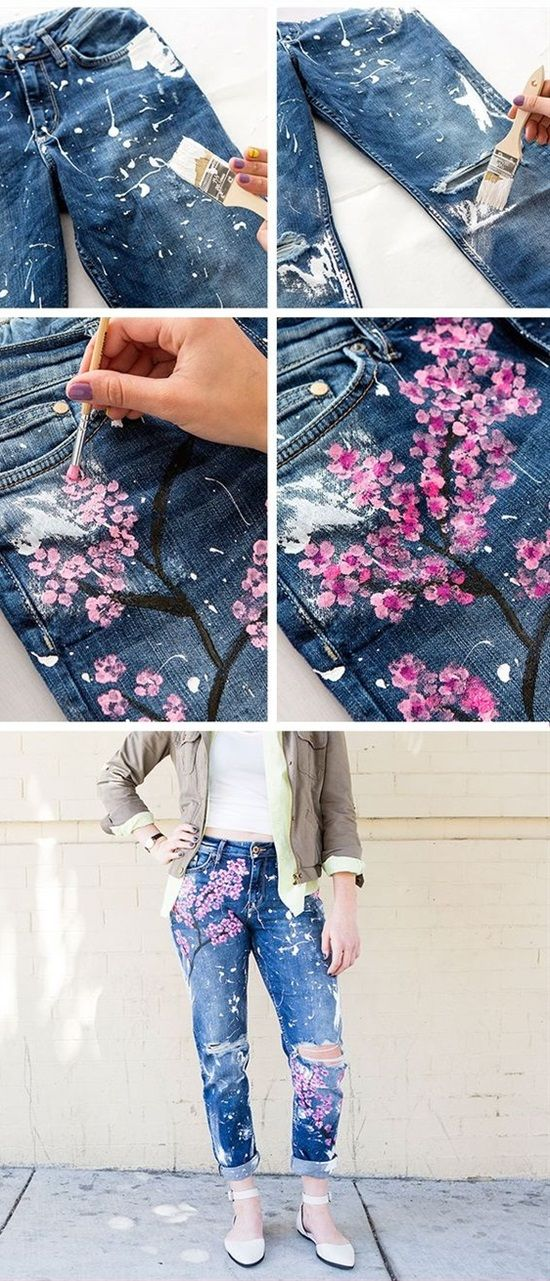 13 Clever Ways To Re-Fashion Your Old Jeans | Postris