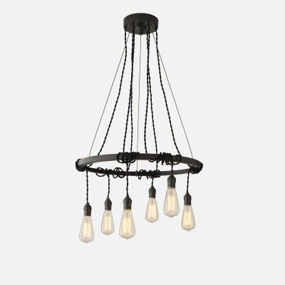 Tangled Chandelier - Antique Black Brass | Chandeliers | Lighting
