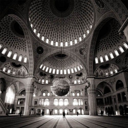 Kocatepe mosque in Ankara, Turkey