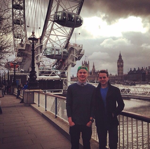 Cinemates in London - Kelvin Boerma and Peter de Harder