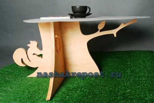 Мебель собственными руками из фанеры | Стул, стол, кресло -качалка из фанеры