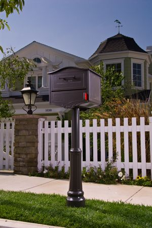 #ArchitecturalMailboxes National Hardware Show | Show Case Items  > Geneva - Architectural Mailboxes