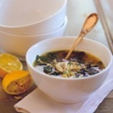 recepten kippensoep spinazie orzo