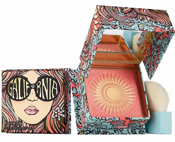 Befinit GALifornia Blusher for Spring 2017 #makeup