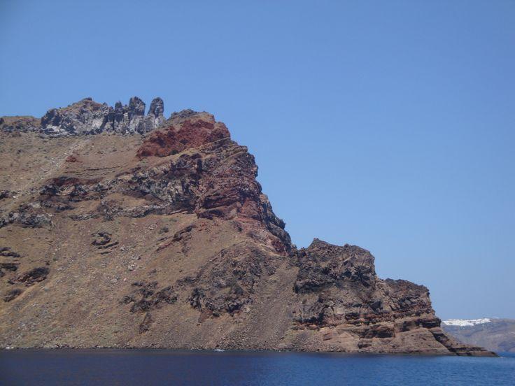 Rock of Therasia island (Θηρασία), Santorini https://arturania.com/santorini