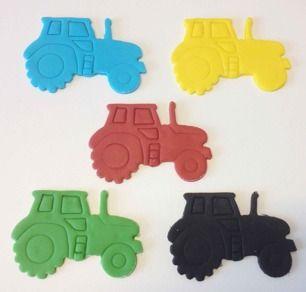 Mindre förpackningar av basfärgerna: Blå, grön, röd, svart samt gul. Färgerna ligger förpackade om 100g.