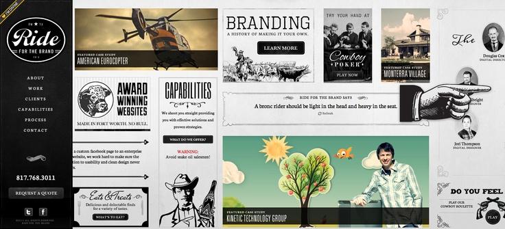 Ride for the brand #portfolio #webdesign